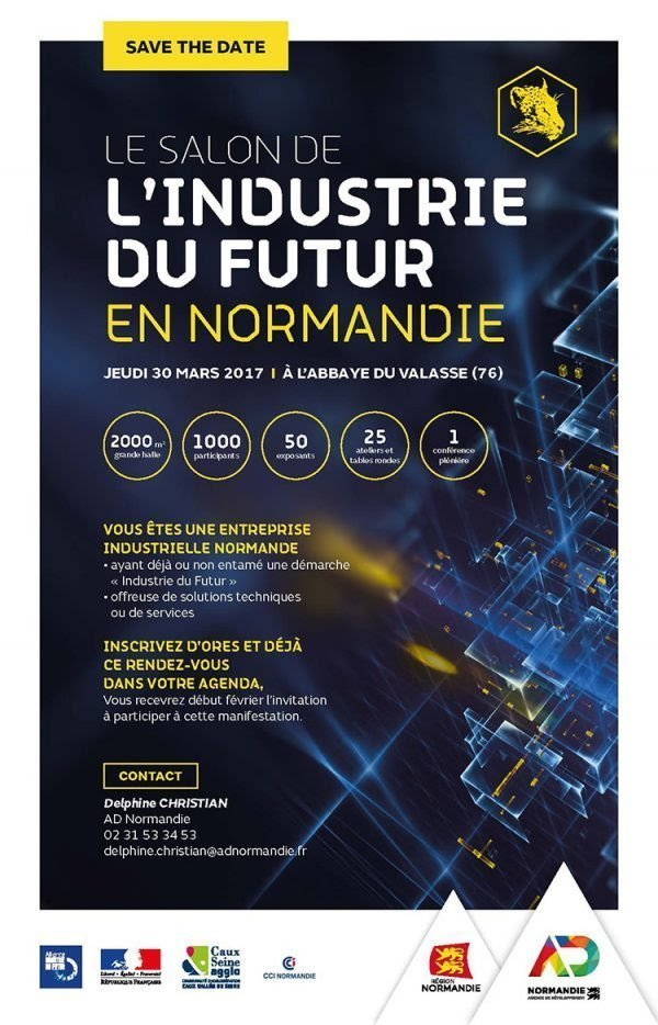 Agenda venez au salon de l 39 industrie du futur de for Salon de l industrie 2017
