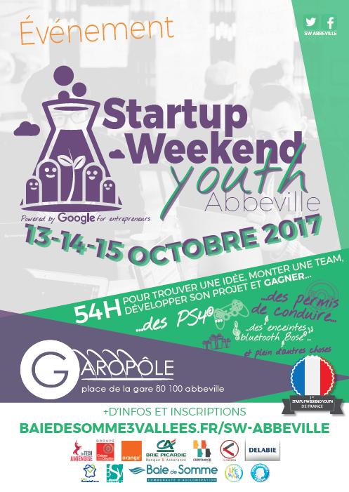 Affiche Startup Weekend